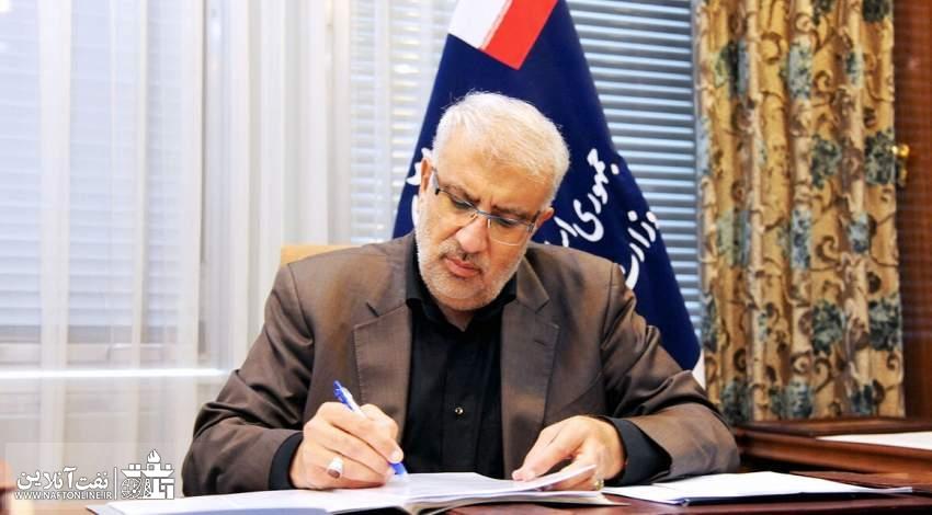 مهندس جواد اوجی وزیر نفت دولت آیت الله سید ابراهیم رییسی   نفت آنلاین