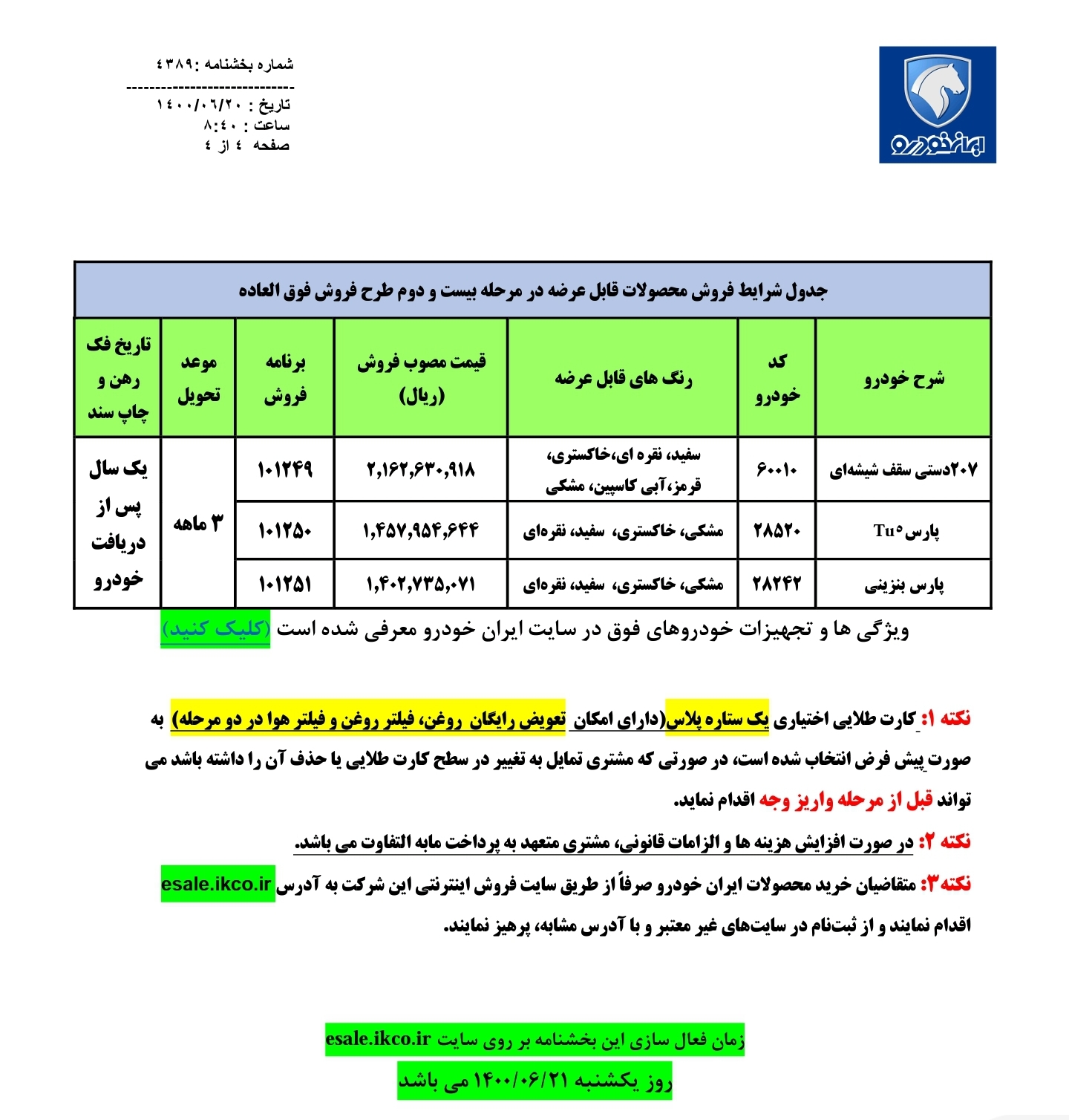 ثبت نام مرحله 22 پیش فروش ایران خودرو