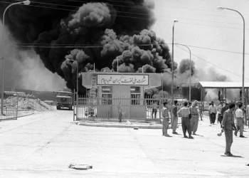 بمباران شرکت ملی نفت ایران | ایلام