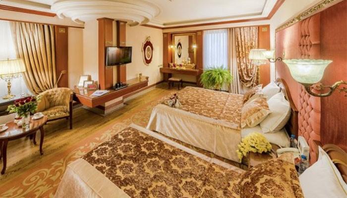 واحدهای اقامتی هتل قصر طلایی
