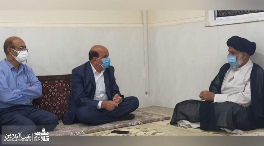 دیدار محسن خجسته مهر با حاج آقا موسوی فرد | نفت آنلاین